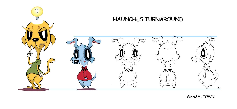 Haunches Turnaround Model