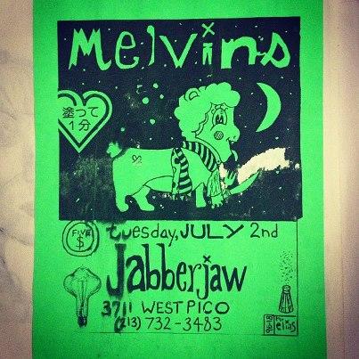 Melvins Flyer
