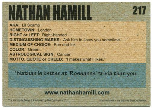 The Art Hustle Profile Card