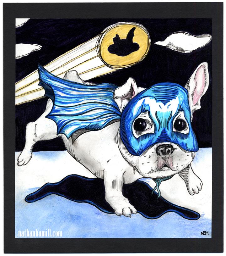 Le Bark Knight
