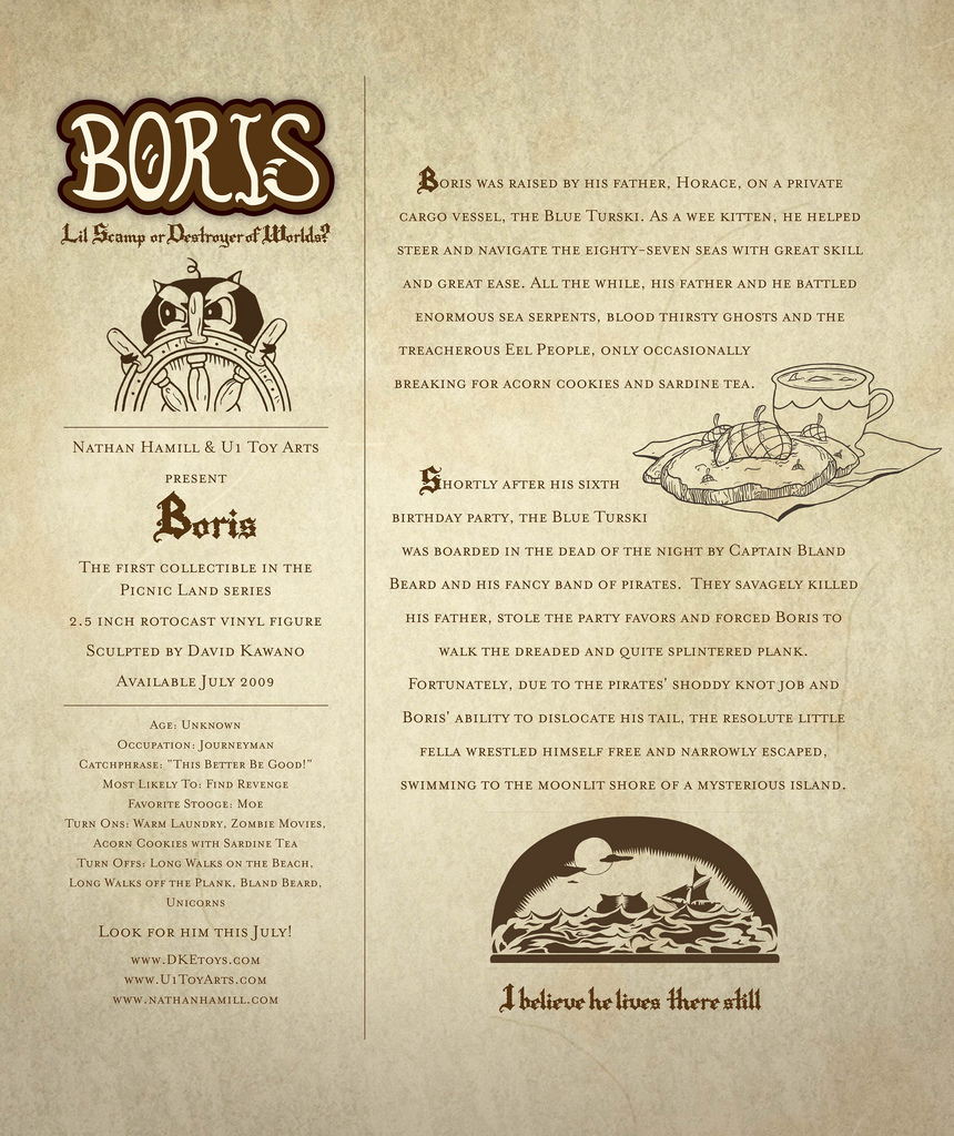 Copy of Boris: Lil Scamp or Destroyer of Worlds?