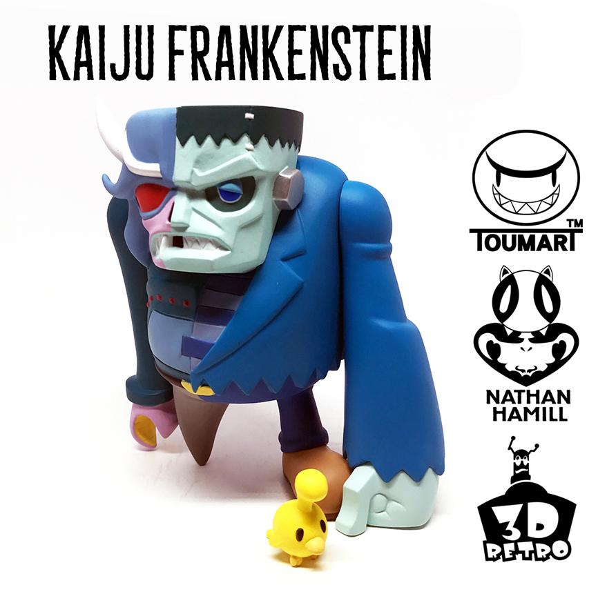 Kaiju Frankenstein: OG Edition by Touma x Nathan Hamill