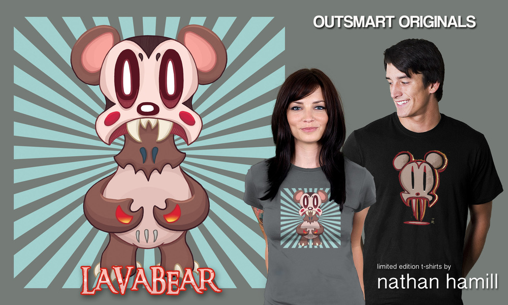 Lavabear and Lavacreep T-Shirts