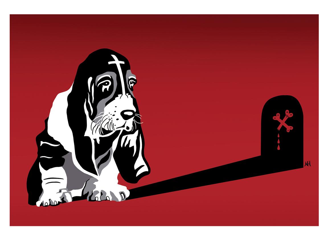 Goth Hund
