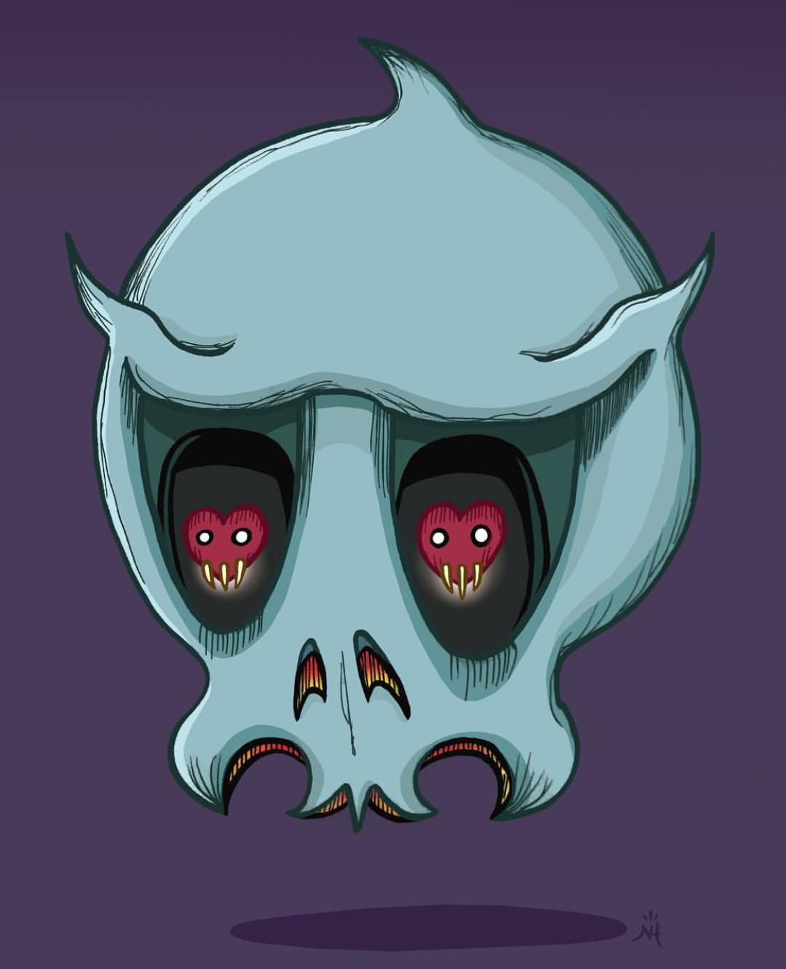 Copy of Love Skull