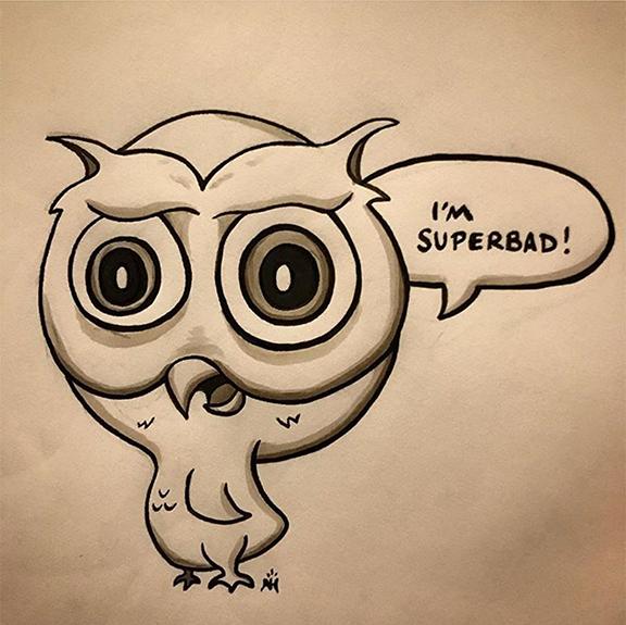 Superb Owl