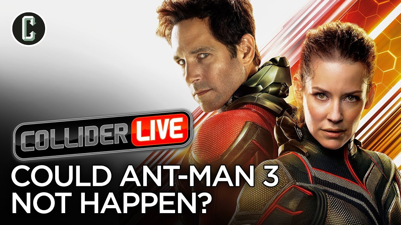 Paul Rudd Says Ant-Man 3 Not a Sure Thing - Collider Live #156