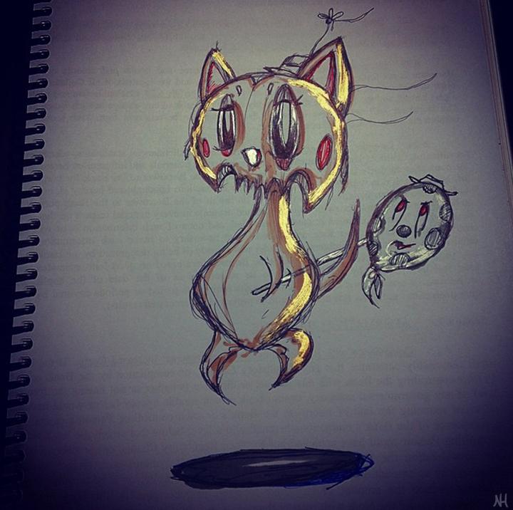 Ghost Kitten Hobo