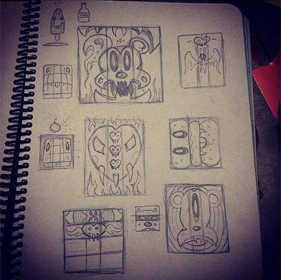 Unused Mimobot Designs
