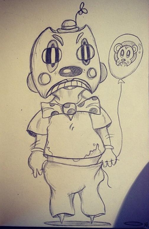 Molesto the Clown