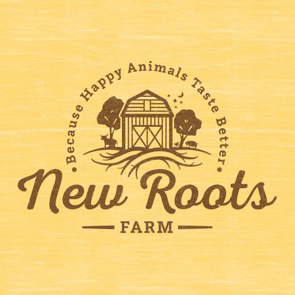 New Roots Farm - Branding