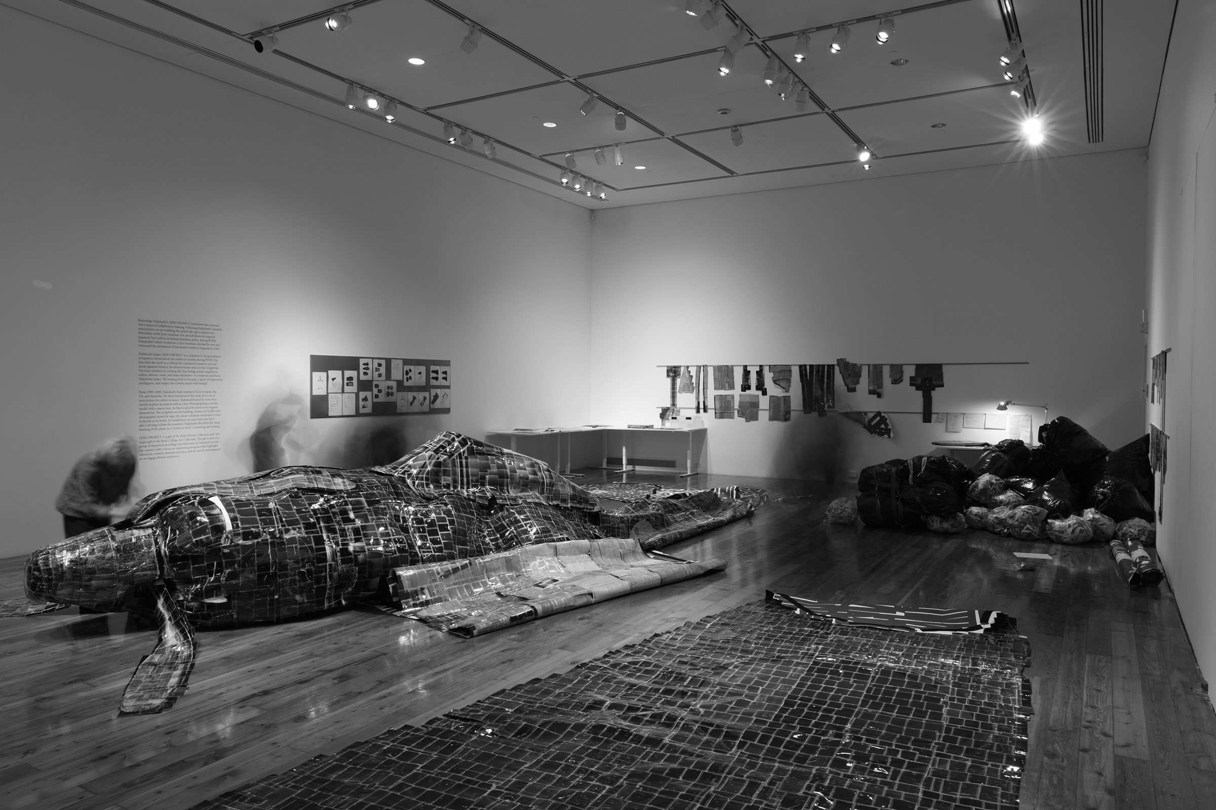 Construction of the Zero Project in the Cooley Gallery