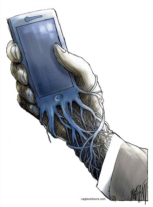 Cellphone Tentacles, Angel Boligan
