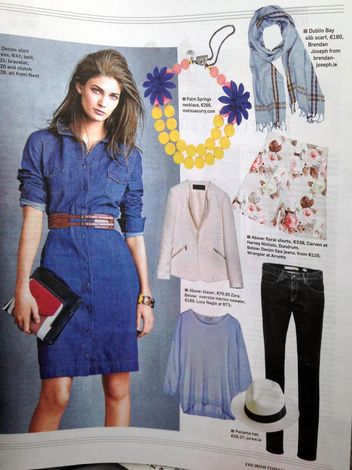 Irish Times Magazine Fashion Deirdre McQuillan Summer