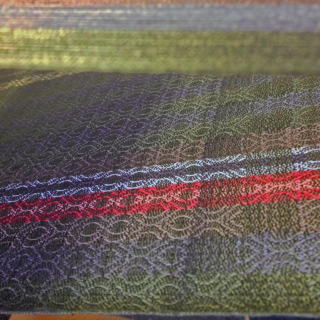 silk loom weaving artisan production master craftsman dublin