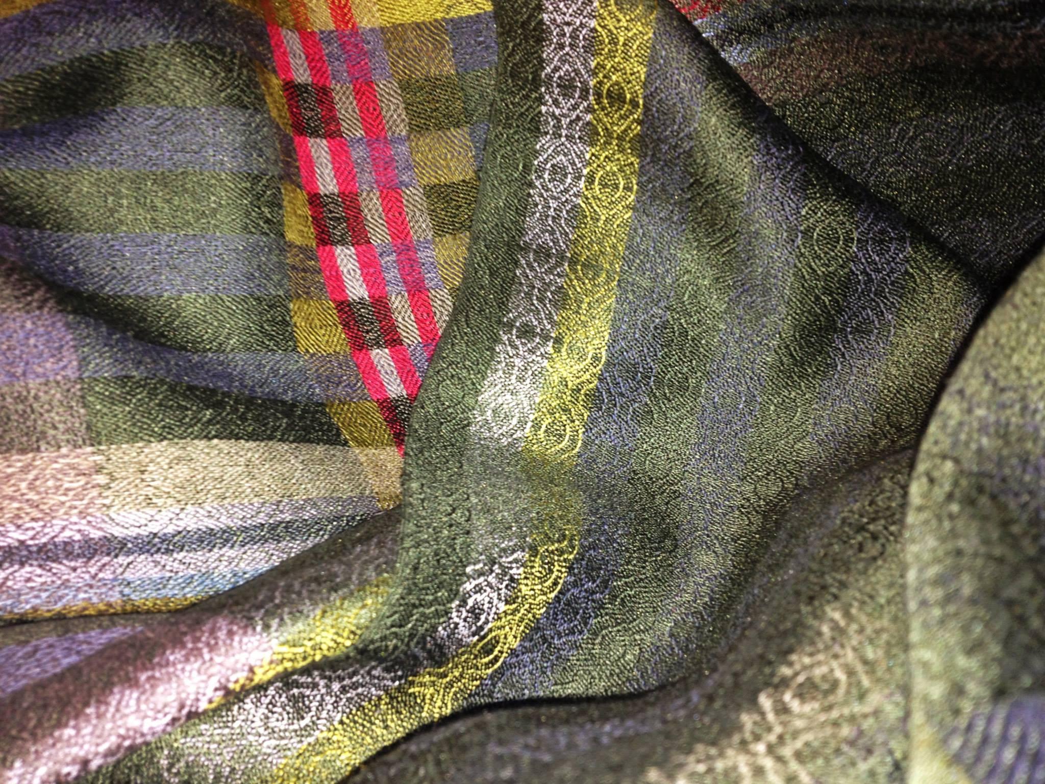 silk handwoven shimmer