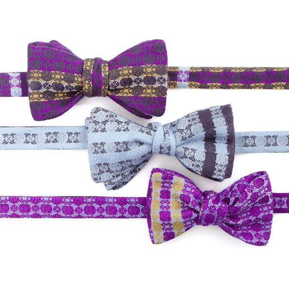irish-silk-bow-ties-dicky-bows-purple-gift-wedding-groom