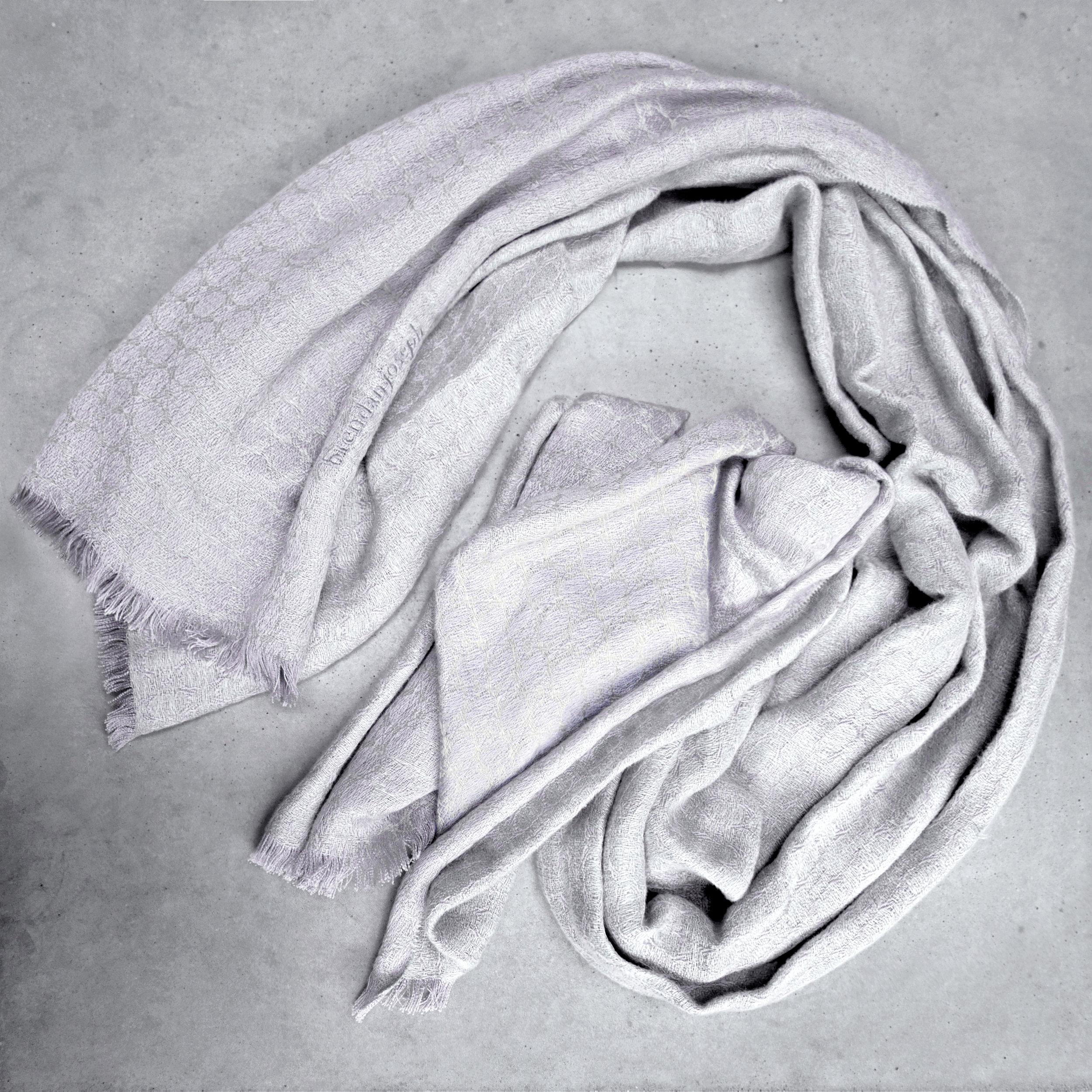 brendanjoseph_silvershore_linen-and-silk-shawl-wrap-stole-pashmina-wedding-corporate-gifts-silver-grey-dublin-ireland-belfast-lough-woven-handmade-in-ireland-luxury-designer-scarf