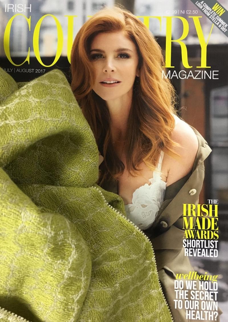 Irish-Country-Magazine-July-August-2017-irish-made-awards-brendan-joseph-green-silk-linen-shawl.JPG