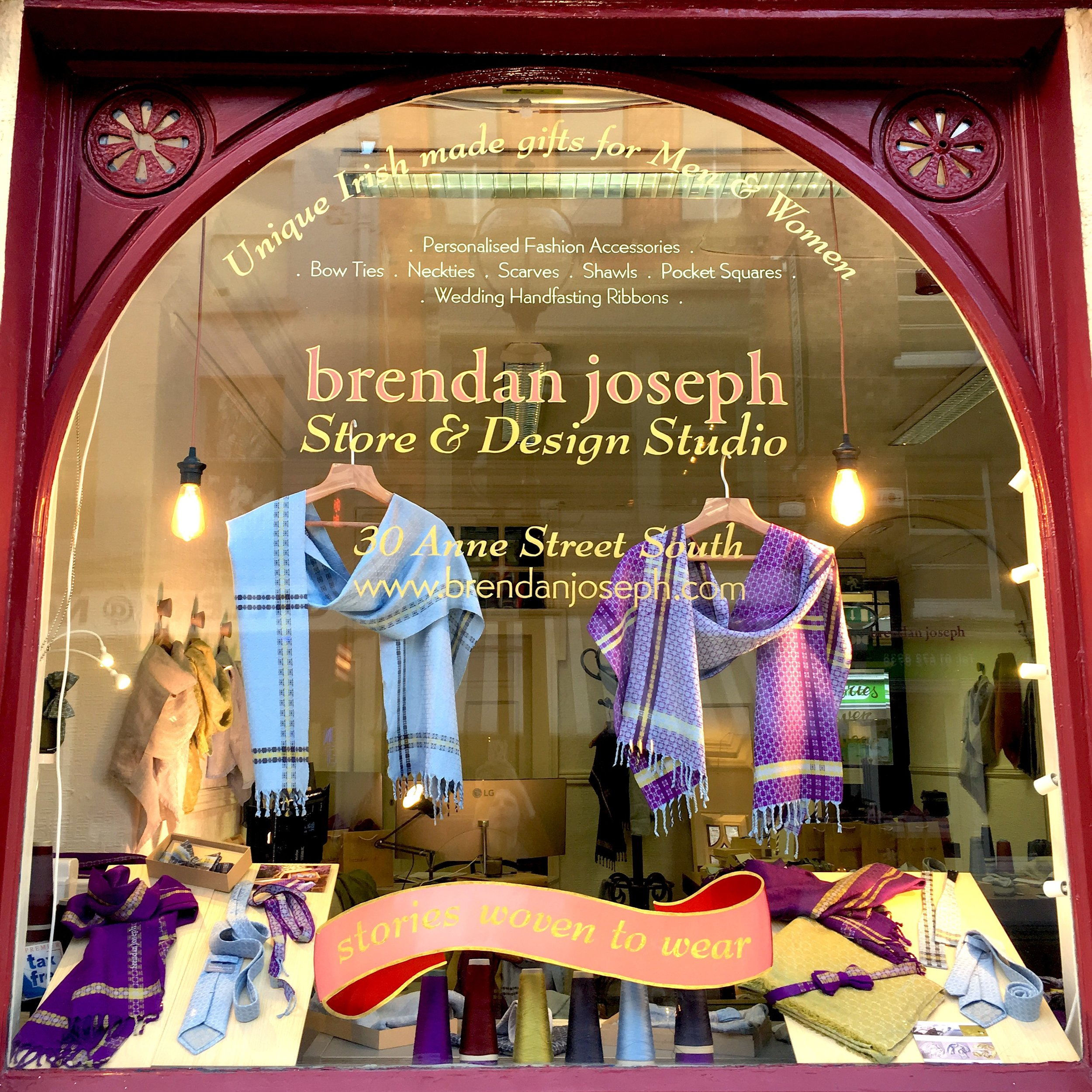 Our South Anne Street Store has closed. - We've moved from our Design Store & Studio at 30 Anne Street South, but Brendan is available for personal consultations in person in Dublin, or via telephone.Call (01) 491 4786 to arrange a private visit.