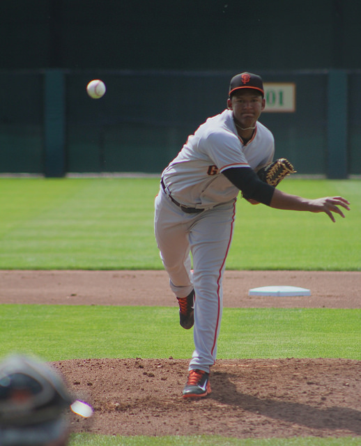 20-year-old Keury Mella from the Dominican Republic. (Conner Penfold / Giant Potential)