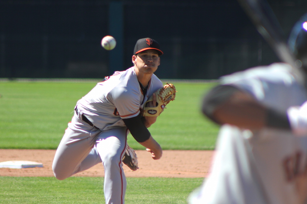 It will be a second appearance in the Arizona Fall League for right-handed sinkerballer Tyler Mizenko, who was also on the 2014 roster. (Conner Penfold/Giant Potential)