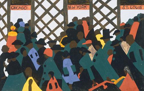 Migration Series: Panel 1
