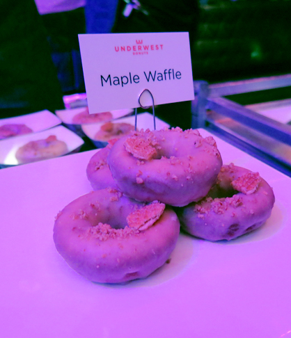 Underwest Maple Waffle Donuts