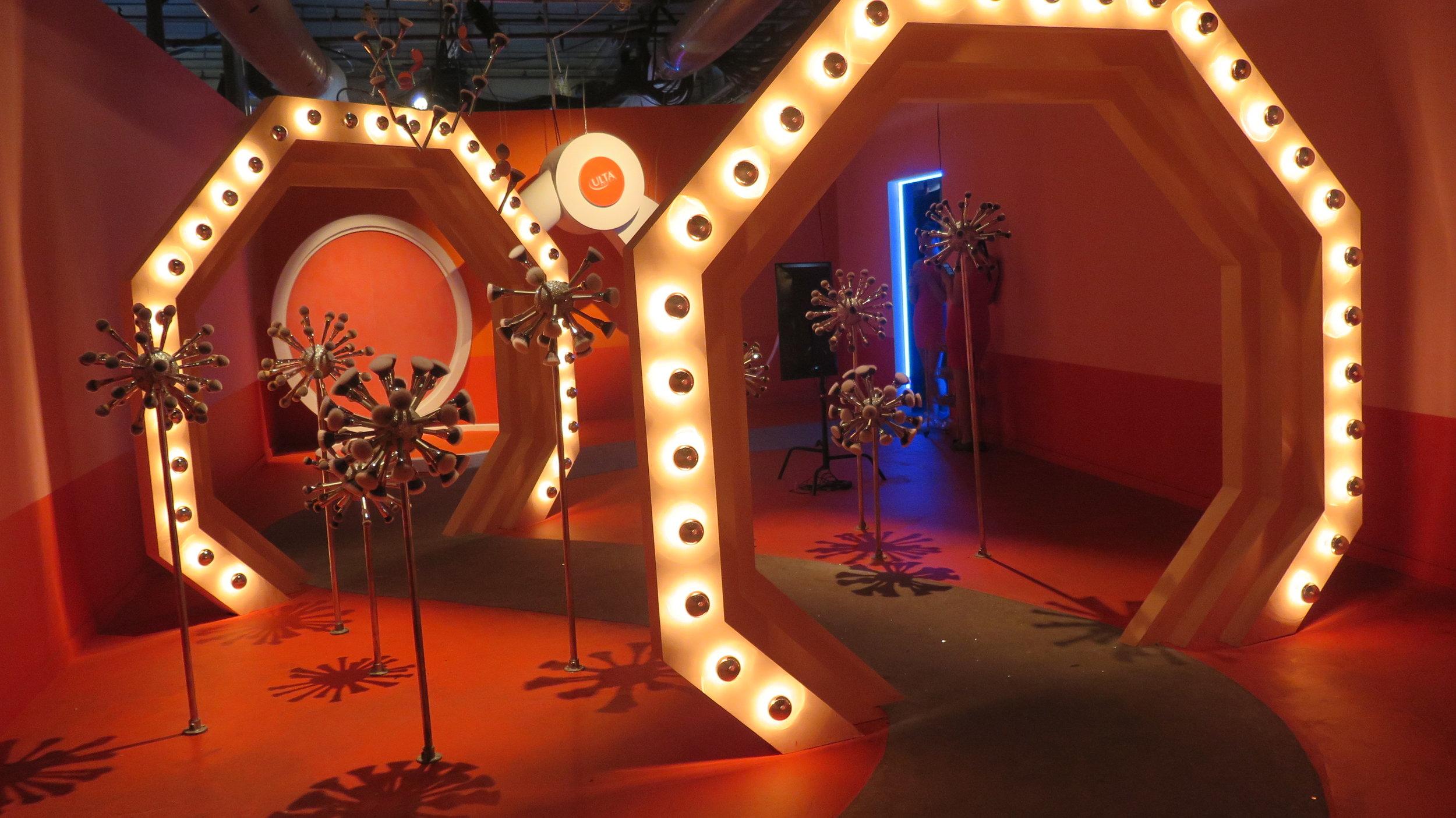 "Ulta's ""Beauty Wonderland"" Room, photo by Kali Brown"