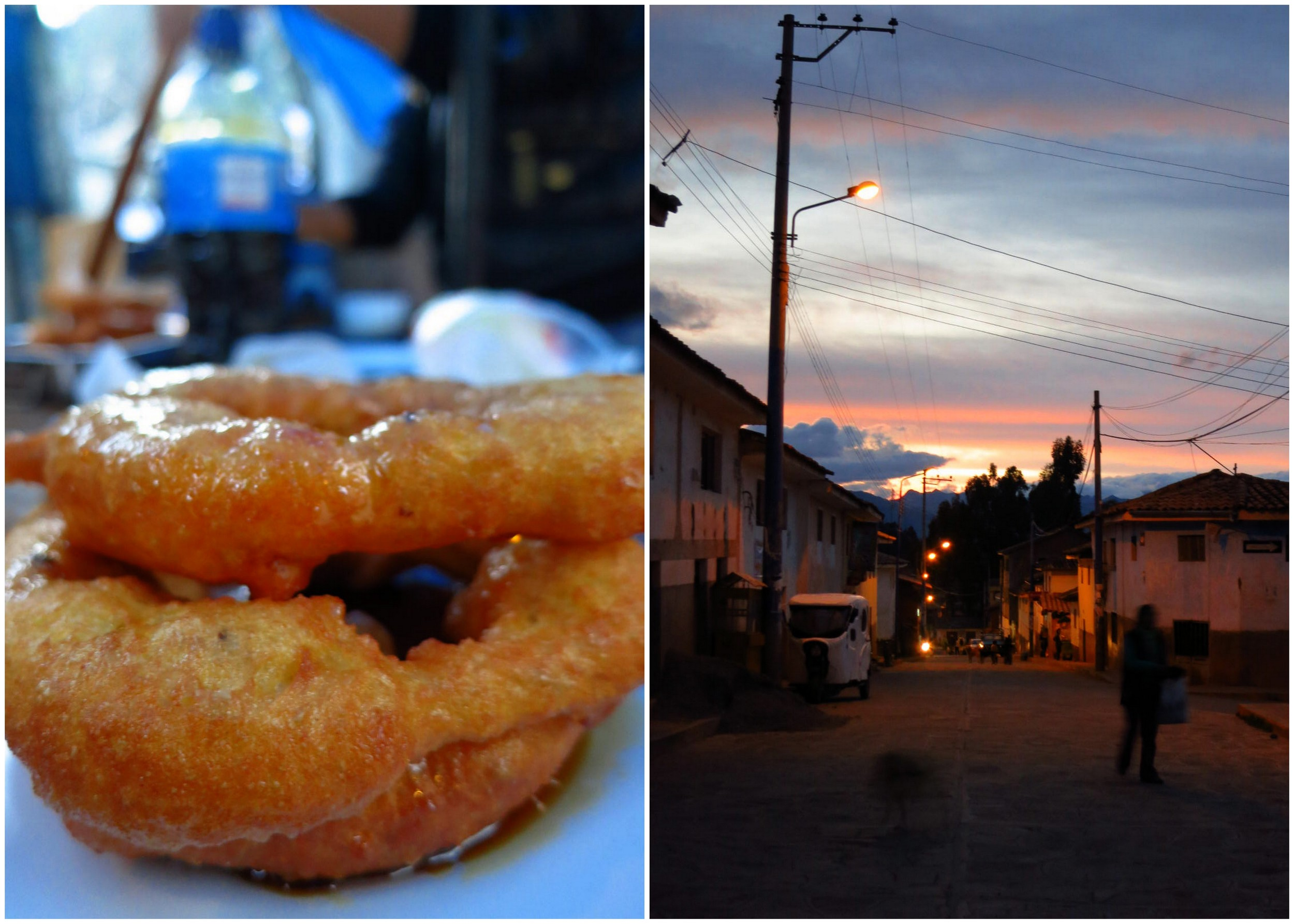 Picarones, aka Peruvian donuts, made of pumpkin and sweet potato