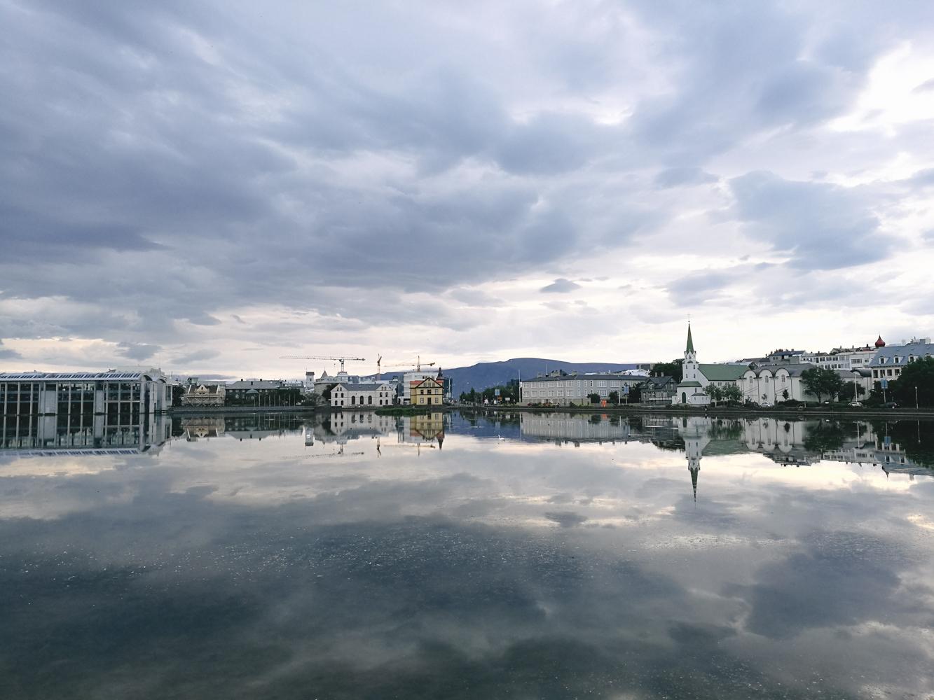Jezioro Tjörnin,fot. Kasia Sińska