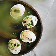 Jajka faszerowane po japońsku