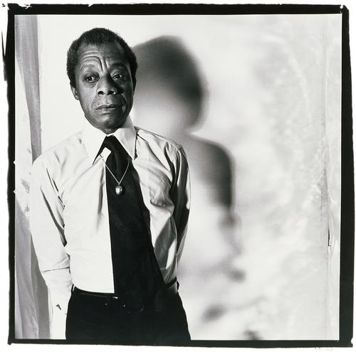 James Baldwin, NYC 1975 // Photo by Anthony Barboza
