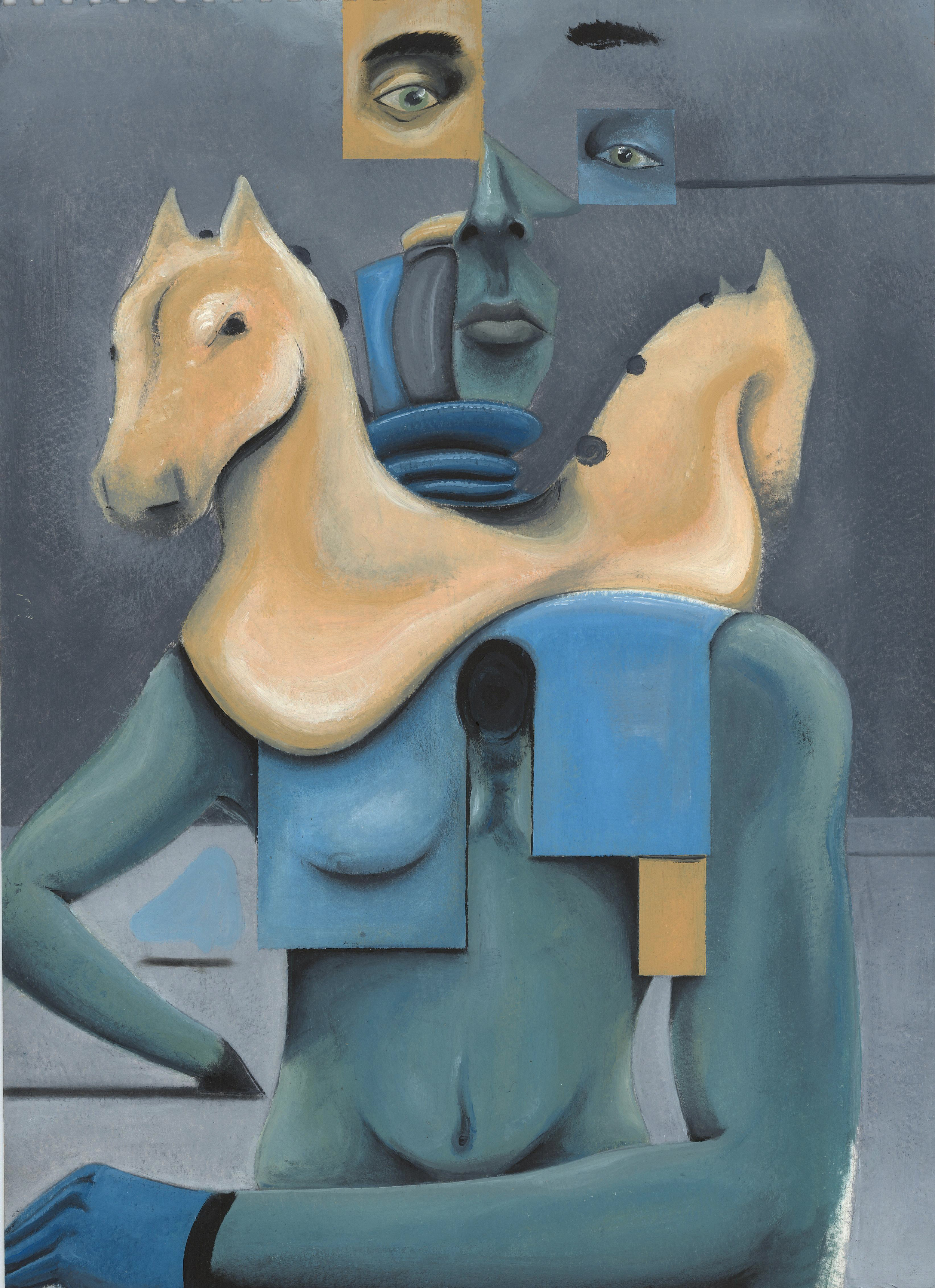 """""""  In the Land of Grays the Wineman is King  """" by   Ege Al'Bege"""