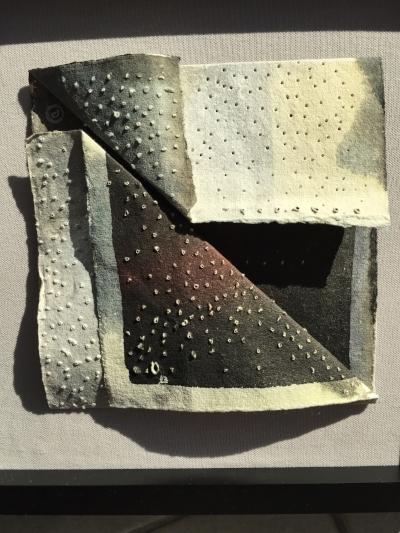 """""""Punctured Mindscape Folds"""" by Richard Vyse"""