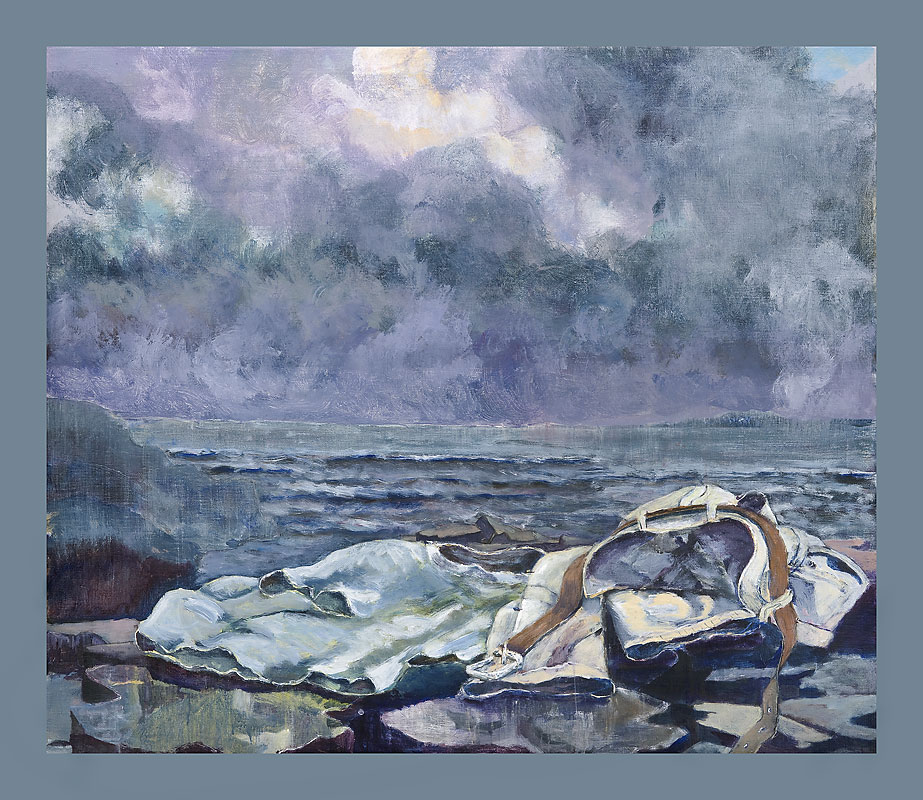 """Swimmer"" by Nigel Ford"
