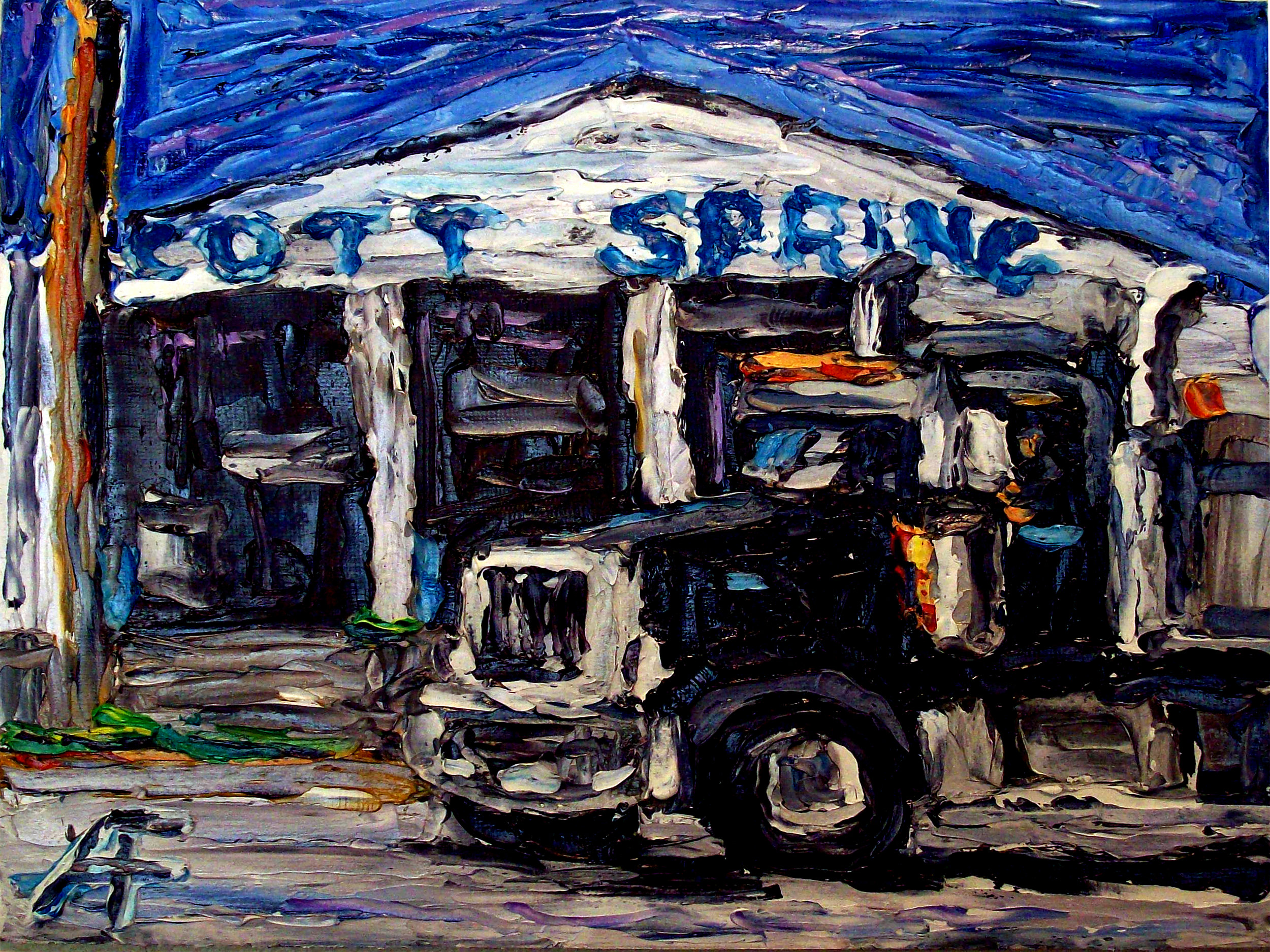 surrey_bc_industry_truck_oil_on_canvas_panel_8x10_2014