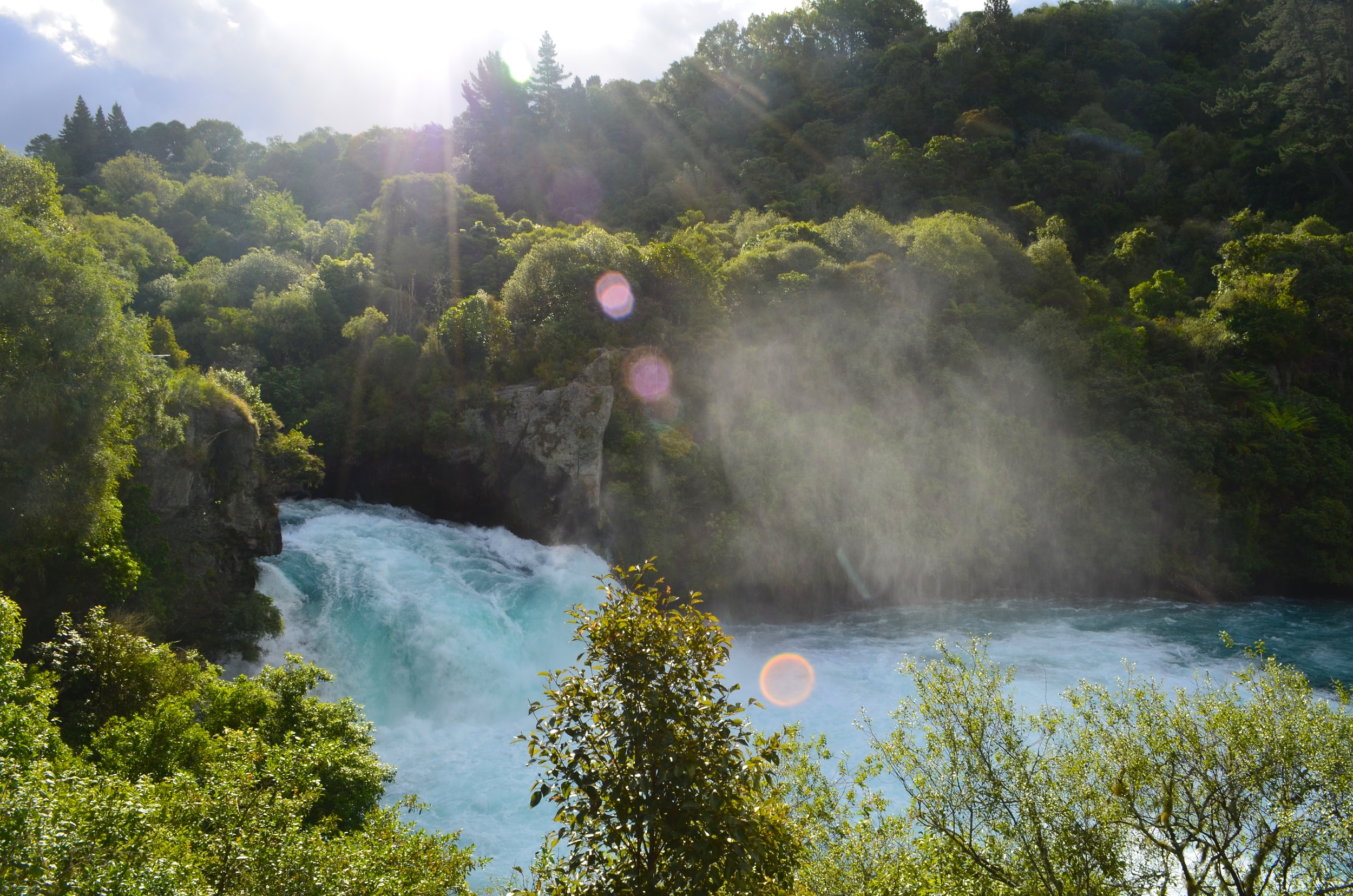 Huka Falls in all its glory