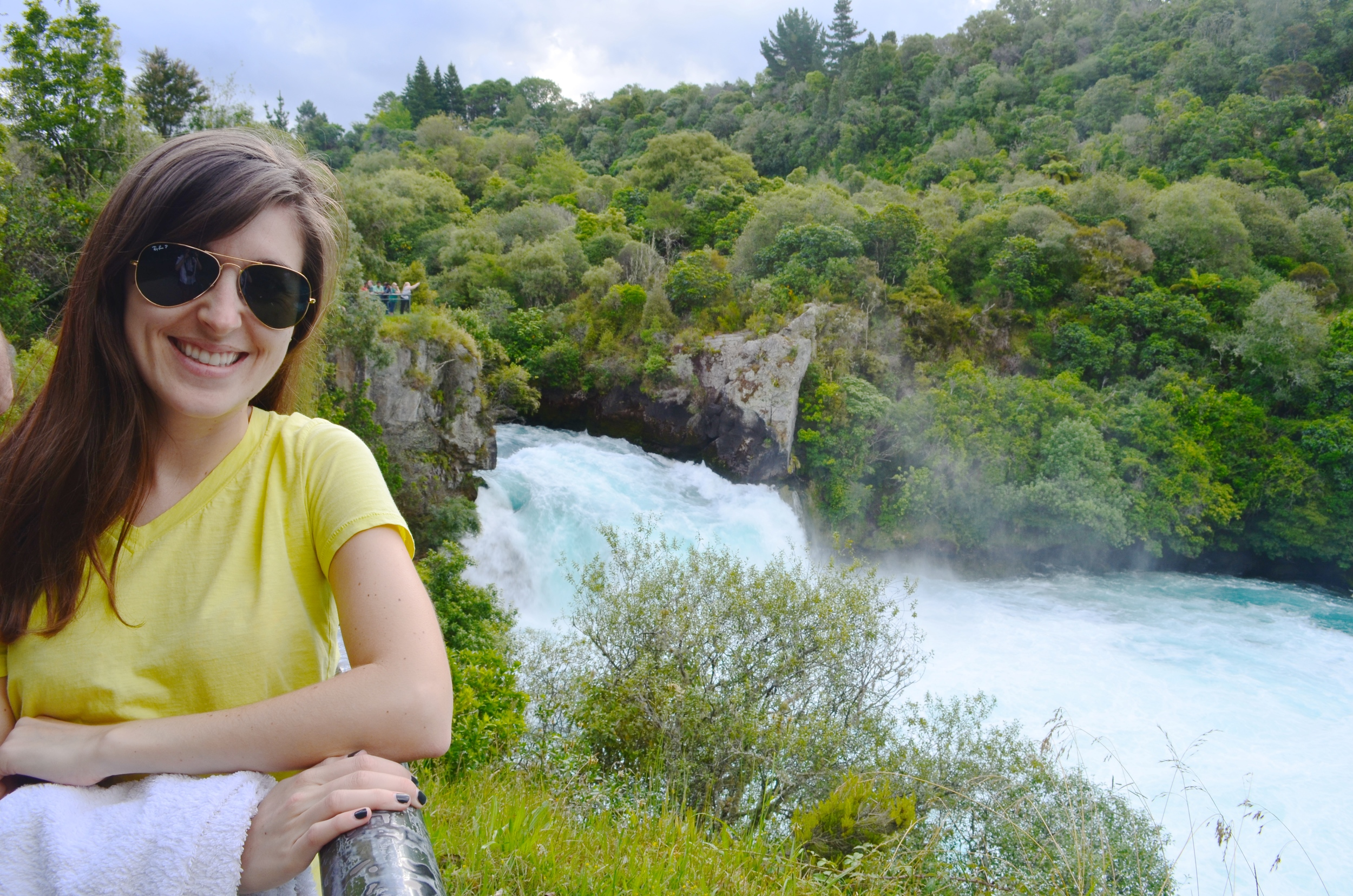 Made it to Huka Falls!