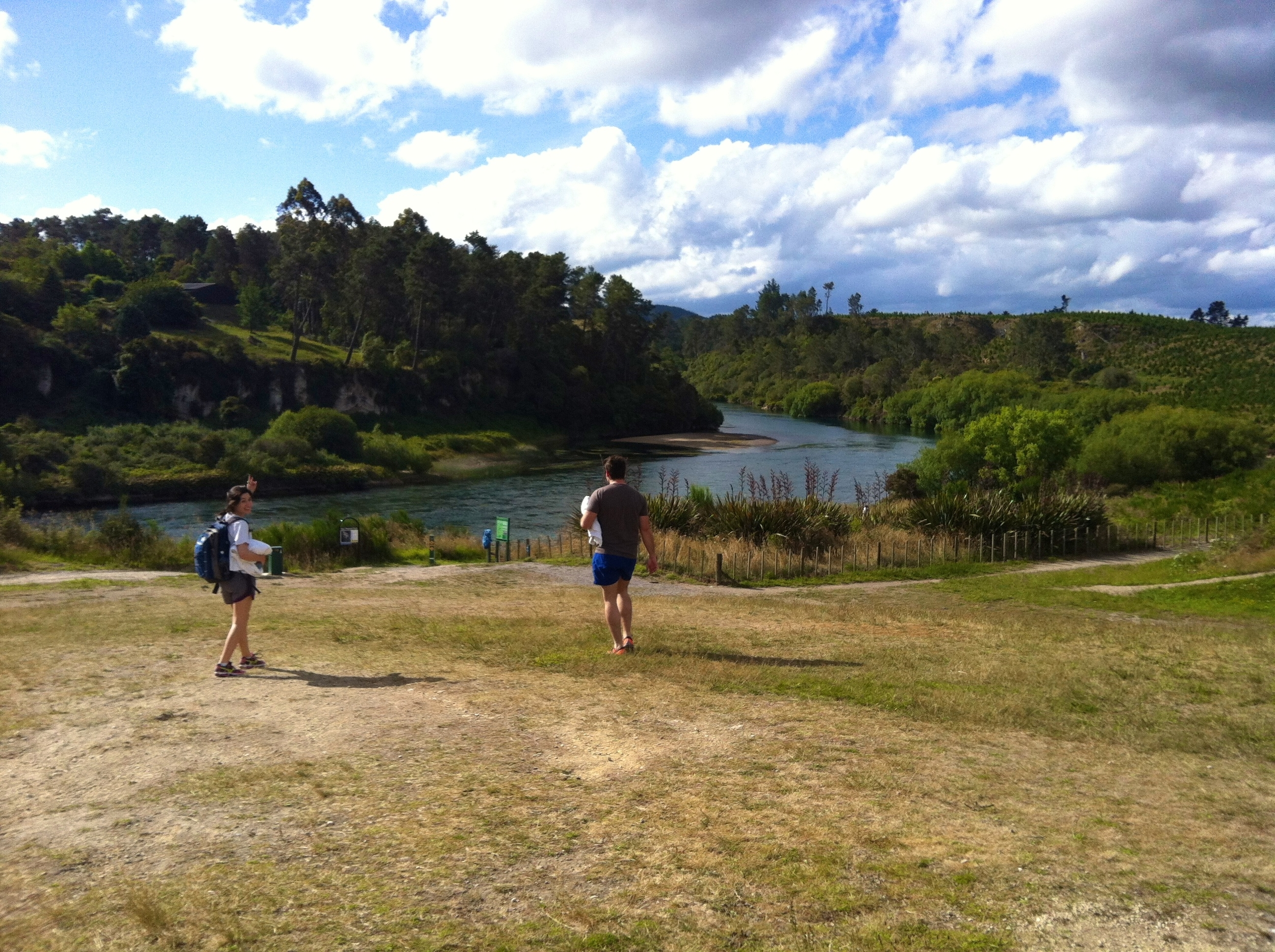 Race for Huka Falls