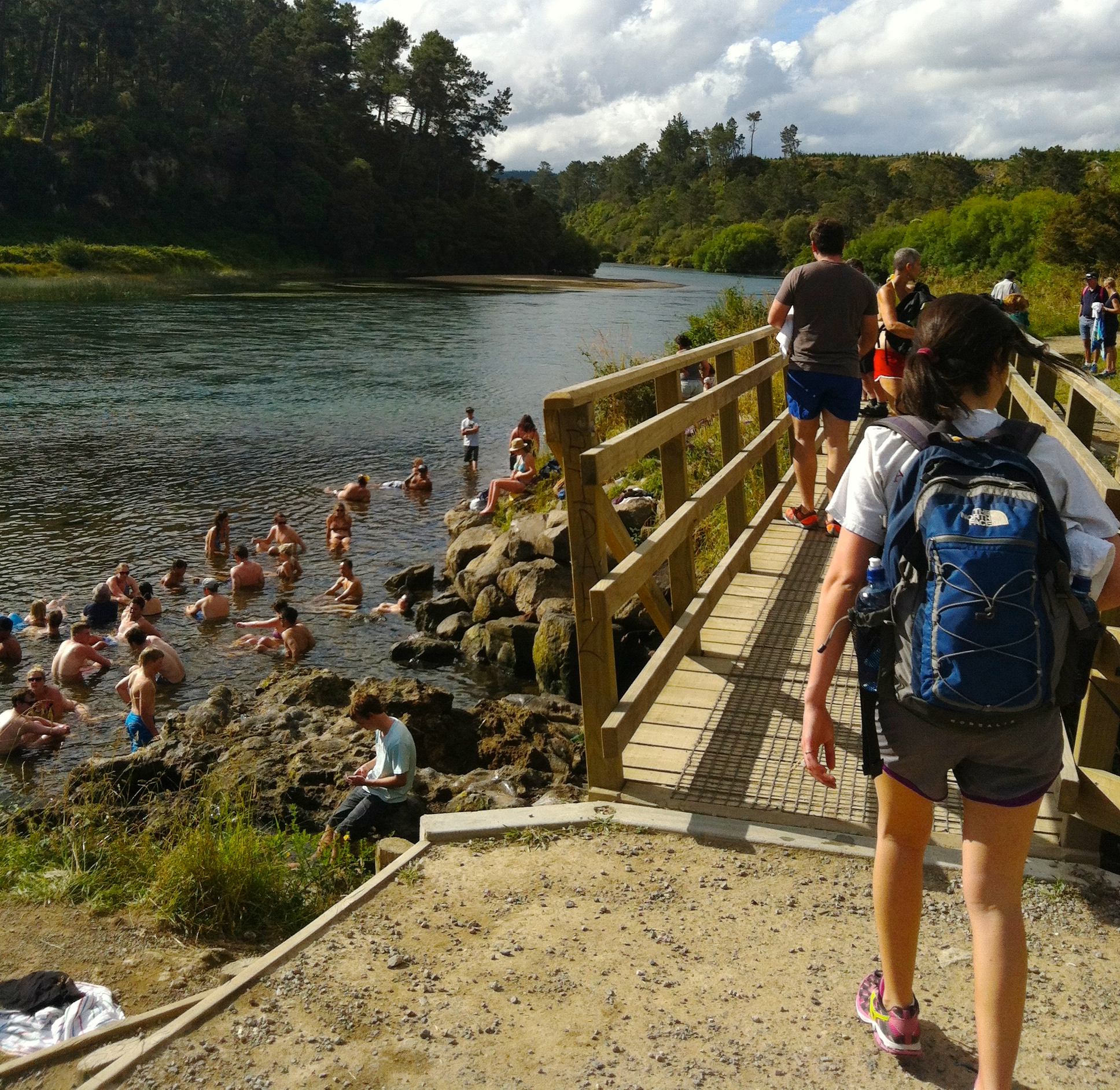 We decided to save hot springs for last. There are many natural hot springs around New Zealand. Definitely a must-do!