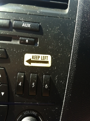 This was in our Mazda rental. I think I need to get one for the Legacy.