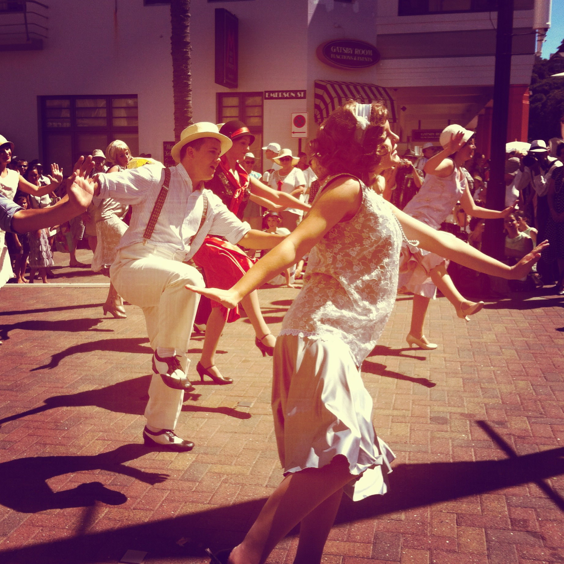 Dancing in the streets!