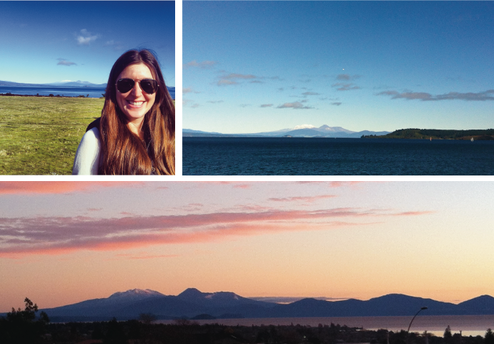 Irresistible views of Ruapehu, Ngauruhoe, and Tongariro from Taupo