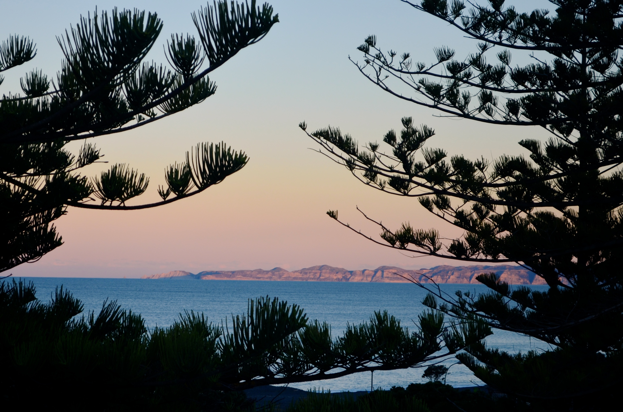 I must admit, the view of the Pacific Ocean and Cape Kidnappers in the distance pretty much sold me on the apartment.
