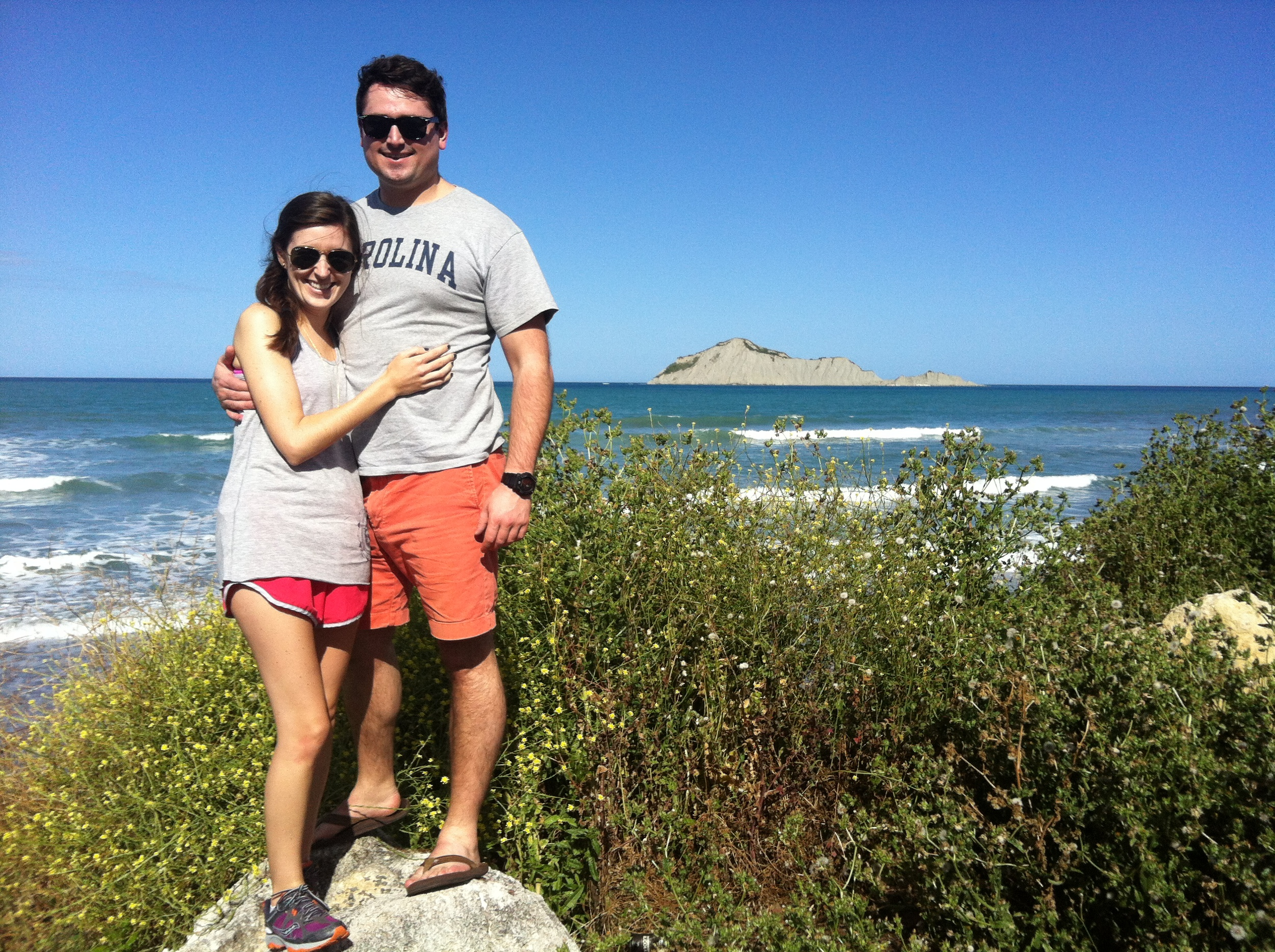 Our first day in Hawke's Bay