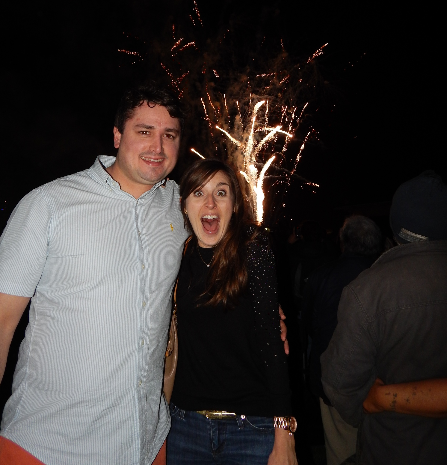 Days after arriving in New Zealand, Joe, my sister Gabrielle and I celebrated  New Year's Eve  in the Napier Sound Shell with a swing band and bag pipers under a sky of fireworks. It was a truly magical night and a great way to kick off this adventure.