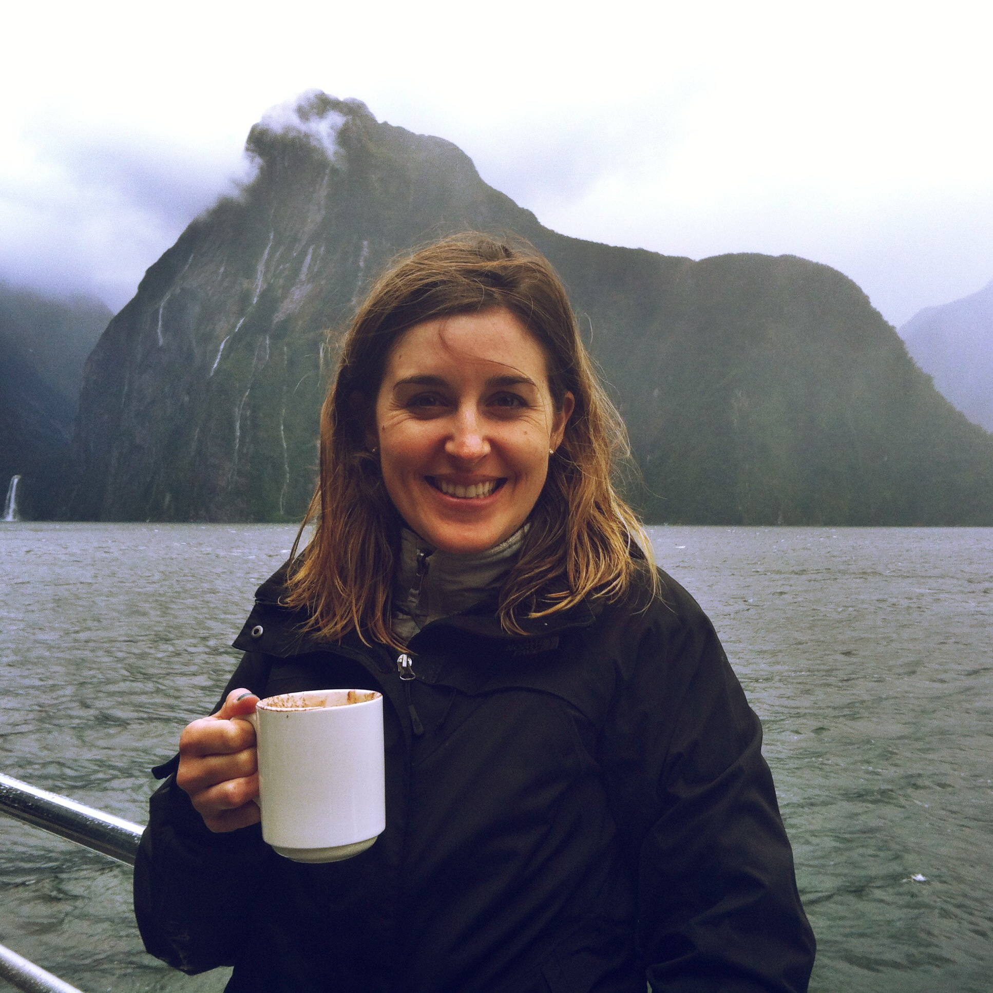 Nothing tastes better than a hot chocolate after kayaking through New Zealand's Fjordland, ya know?