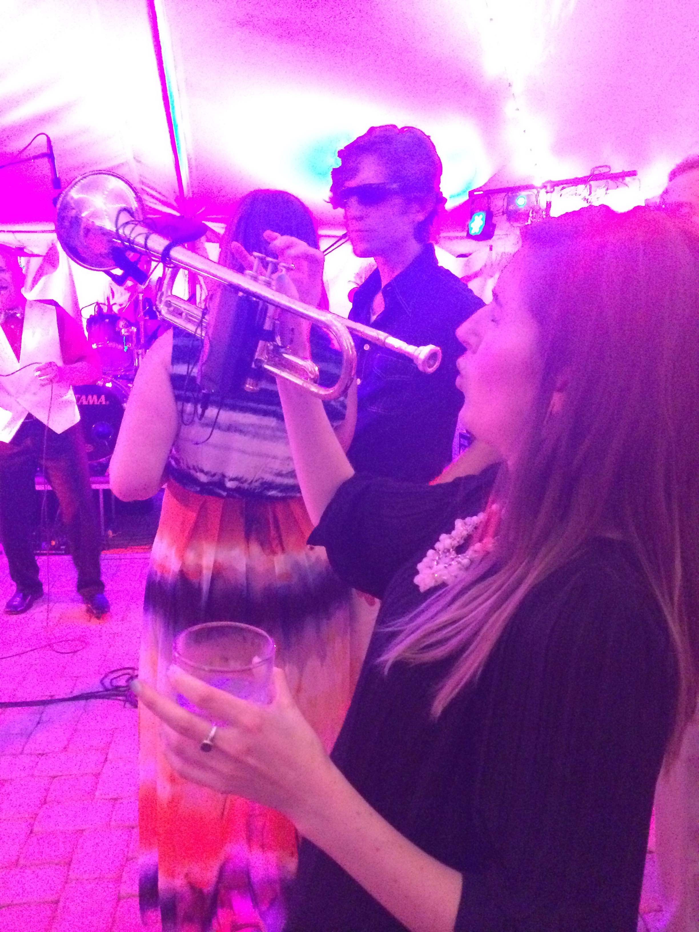Uptown funk at Carrie and John's wedding