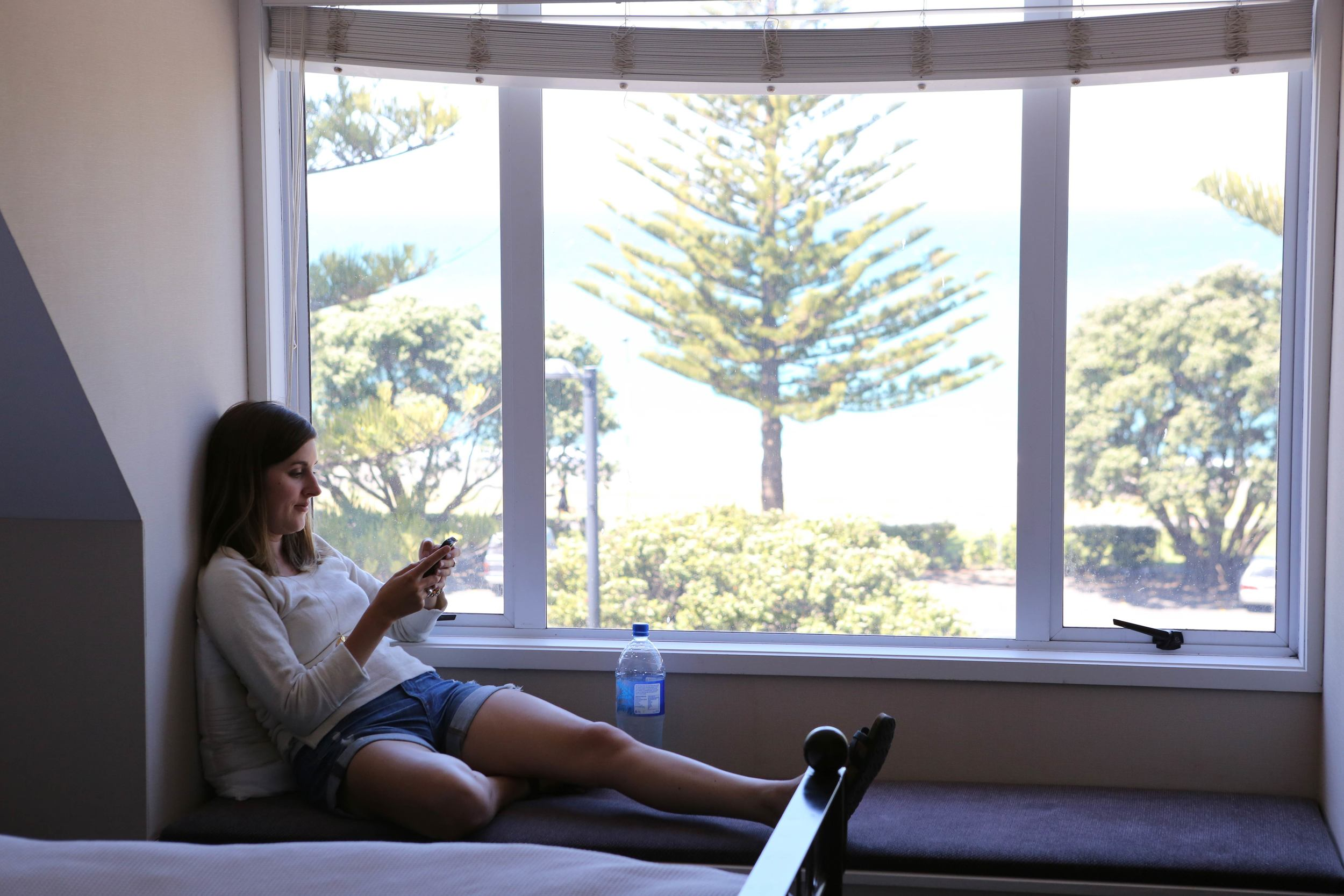 My very favorite spot in our Napier house with the best views!
